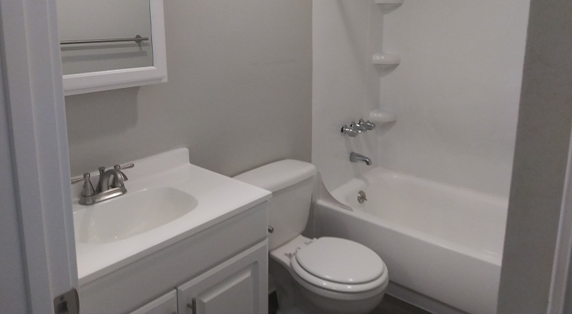 Modern Bathroom (Remodel Shown Here)